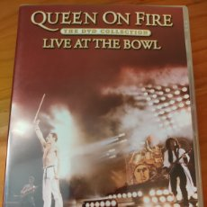 Vídeos y DVD Musicales: DOBLE DVD QUEEN. LIVE AT THE BOWL. FREDDIE MERCURY. Lote 227085935