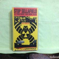 Vídeos y DVD Musicales: U2 KRAFTWERK PUBLIC ENEMY ETC... STOP SELLAFIELD THE CONCERT REACT! GREENPEACE VHS. UK. NM-NM. Lote 227667305
