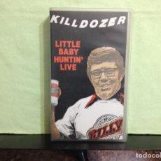 Vídeos y DVD Musicales: KILLDOZER - LITTLE BABY HUNTIN' LIVE / RARO VHS (HARDCORE, NOISE) . USA 1990. JEN 193. NM-M. Lote 227670070