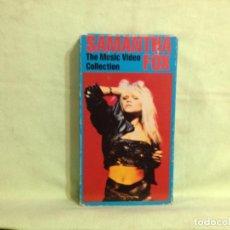 Vídeos y DVD Musicales: SAMANTHA FOX - THE MUSIC VIDEO COLLECTION / RARO VHS SISTEMA NTSC . USA 1990. JEN 193. NM-NM. Lote 227672965