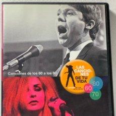 Vidéos y DVD Musicaux: LAS CANCIONES DE TU VIDA , CANCIONES DE LOS 60 A LOS 80. Lote 228002715