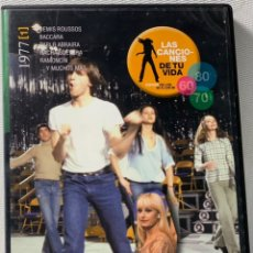 Vidéos y DVD Musicaux: LAS CANCIONES DE TU VIDA , CANCIONES DE LOS 60 A LOS 80····. Lote 228002945