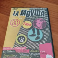 Vídeos y DVD Musicales: DVD LOQUILLO, RONALDOS, ALASKA, TINO CASAL, RADIO FUTURA, BURROS, RAMONCIN. LA MOVIDA DE LOS 80. Lote 228124645