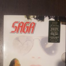 Vídeos y DVD Musicales: DVD + CD- SAGA - WORLDS APART REVISITED - CONCIERTO EN SUIZA 2005 - DOS DVD'S, EXTRAS Y DOCUMENTALES. Lote 228163600