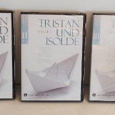 Vídeos y DVD Musicales: TRISTAN UND ISOLDE. GRAN TEATRE DEL LICEU. BICENT. WAGNER / VERDI - VOL - I - II - III. PRECINTADOS.. Lote 228438180