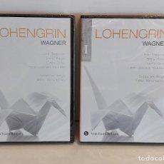 Vídeos y DVD Musicales: LOHENGRIN. GRAN TEATRE DEL LICEU. BICENTENARIO WAGNER / VERDI - VOL - I - II / PRECINTADOS.. Lote 228438405