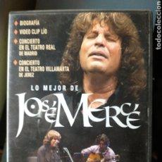 Vídeos y DVD Musicales: JOSÉ MERCÉ DVD. Lote 229160115