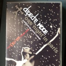 Vídeos y DVD Musicales: DEPECHE MODE DVD DOBLE. Lote 229162630