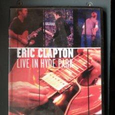 Vídeos y DVD Musicales: ERIC CLAPTON DVD. Lote 229162790
