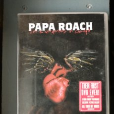 Vídeos y DVD Musicales: PAPA ROACH DVD. Lote 229163035
