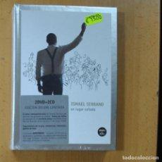Video e DVD Musicali: ISMAEL SERRANO - UN LUGAR SOÑADO - 2 CD + 2 DVD. Lote 229300335