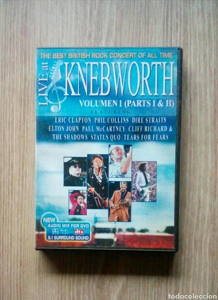 LIVE AT KNEBWORTH - VOLUME 1 - PARTS I & II, DVD, EAGLE VISION, 2002 (Música - Videos y DVD Musicales)