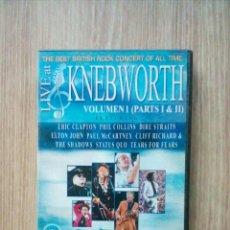 Vídeos y DVD Musicales: LIVE AT KNEBWORTH - VOLUME 1 - PARTS I & II, DVD, EAGLE VISION, 2002. Lote 229690690