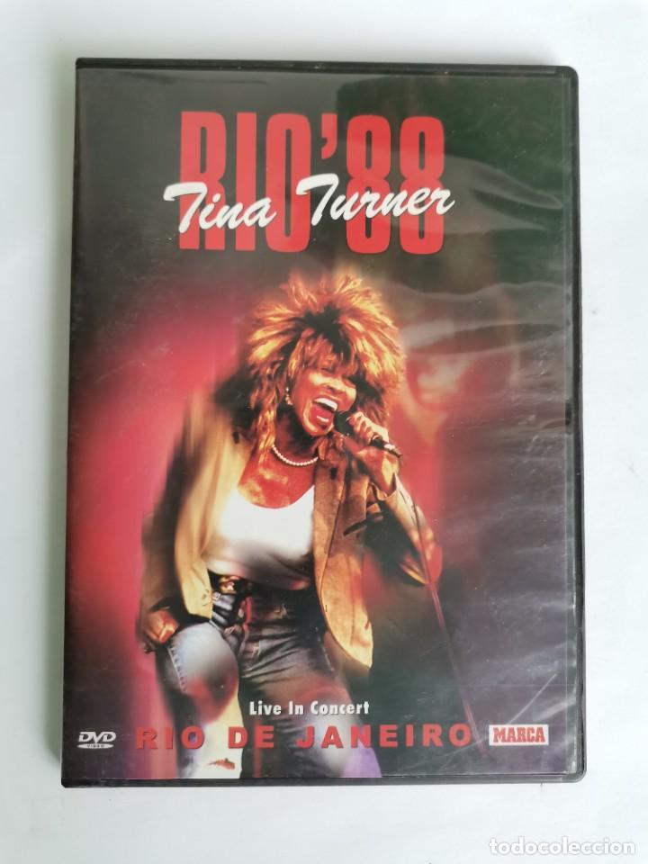 TINA TURNER LIVE IN CONCERT RIO 88 DVD (Música - Videos y DVD Musicales)