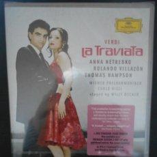 Vídeos y DVD Musicales: LA TRAVIATA. VERDI. DVD DE LA OPERA DEUSTCHE GRAMMOPHON. NUEVO A ESTRENAR. ANNA NETREBKO, ROLANDO VI. Lote 230161925