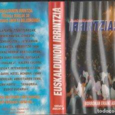 Vídeos y DVD Musicales: EUSKALDUNON IRRINTZIA VIDEO VHS. Lote 230740420