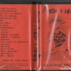 Vídeos y DVD Musicales: AGROPUNK VIDEO VIDEO VHS. Lote 230740820