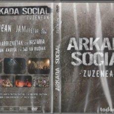 """Vídeos y DVD Musicales: DVD ARKADA SOCIAL """"ZUZENEAN"""". Lote 230742040"""