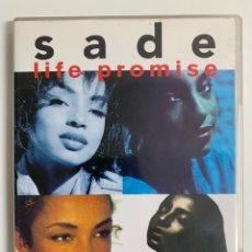 Vídeos y DVD Musicales: DVD - SADE - LIFE PROMISE - PRIDE LOVE.. Lote 230939640
