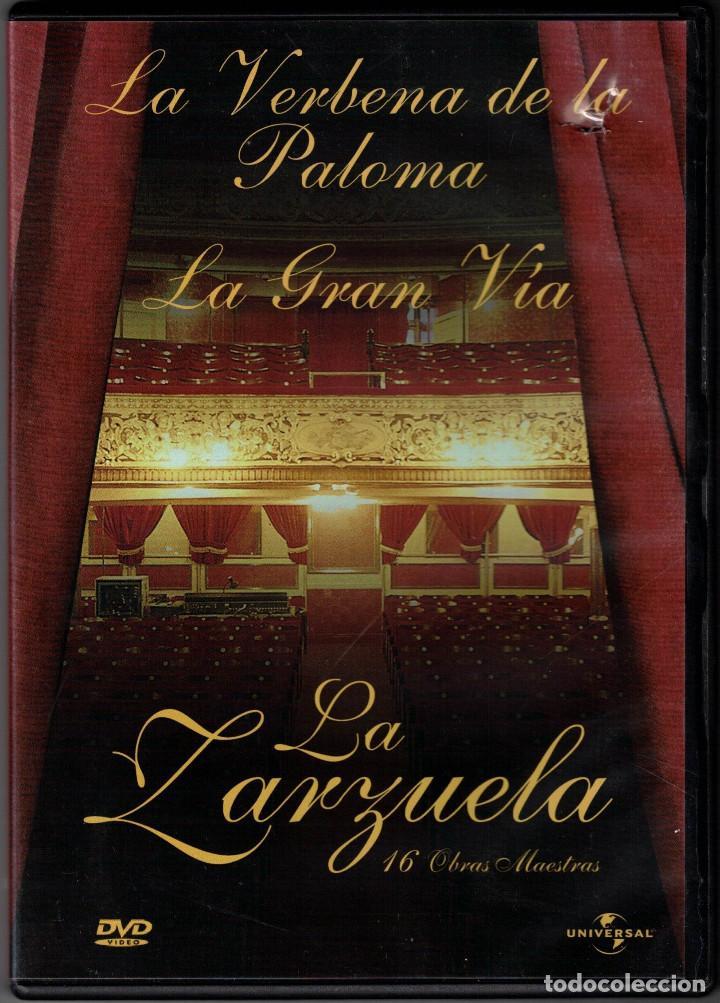 LA VERBENA DE LA PALOMA - LA GRAN VÍA - LA ZARZUELA - DVD (Música - Videos y DVD Musicales)