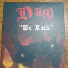 Vídeos y DVD Musicales: DIO - WE ROCK. DVD 2005. BUEN ESTADO. Lote 231288420