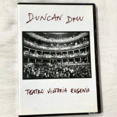 Vídeos e DVD Musicais: DVD DUNCAN DHU TEATRO VICTORIA EUGENIA DVD. Lote 231797310