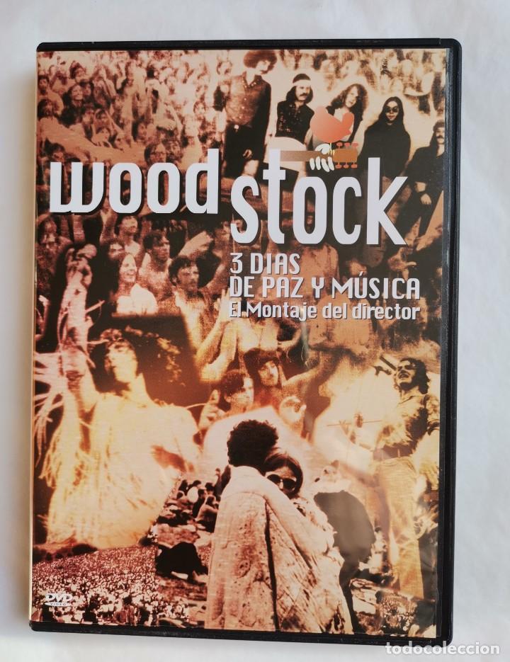 WOODSTOCK 3 DÍAS DE PAZ Y MÚSICA DVD (Música - Videos y DVD Musicales)