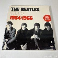 Vídeos y DVD Musicales: THE BEATLES - DIARY 1964/1966 2 DVD Y LIBRO. Lote 232346085
