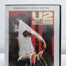 Vídeos y DVD Musicales: U2 RATTLE AND HUM - DESCATALOGADO - GRANDES CONCIERTOS - DVD. Lote 232695305
