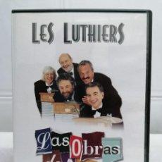Vídeos y DVD Musicales: LES LUTHIERS - LAS OBRAS DE AYER - DVD - MUY BUEN ESTADO. Lote 233169030