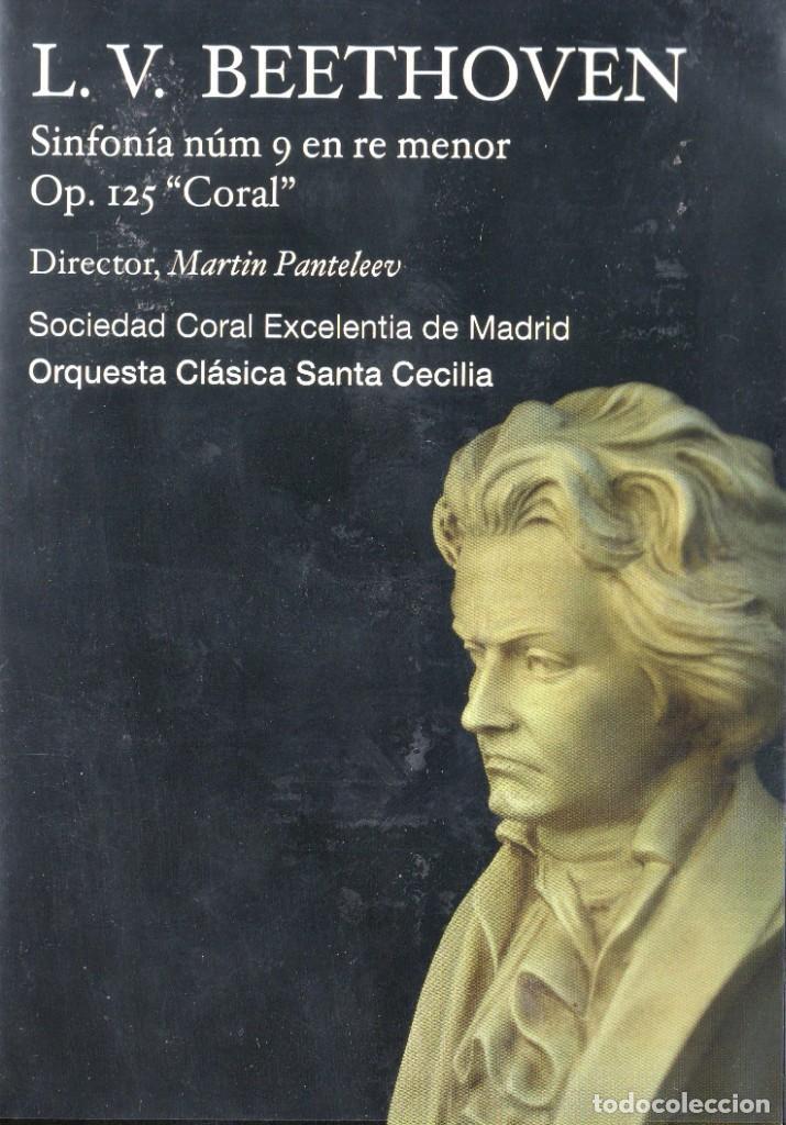 L.V. BEETHOVEN - ORQUESTA CLÁSICA SANTA CECILIA - DVD (Música - Videos y DVD Musicales)