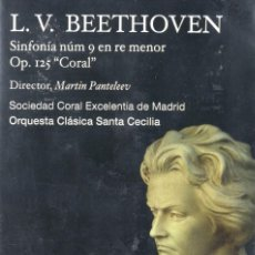 Vídeos y DVD Musicales: L.V. BEETHOVEN - ORQUESTA CLÁSICA SANTA CECILIA - DVD. Lote 233666655
