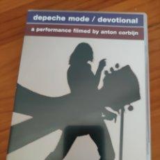 Vídeos e DVD Musicais: DOBLE DVD DEPECHE MODE. DEVOTIONAL. Lote 233835380