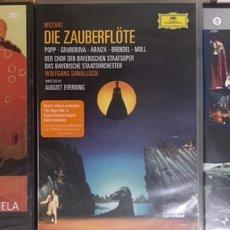 Vídeos y DVD Musicales: LOTE 3 DVD MUSICA - CHAPI ENSENCIA DE LA ZARZUELA - MOZART DIE ZAUBERFLOTE - OTELLO GIUSEPPE VERDI. Lote 233871930