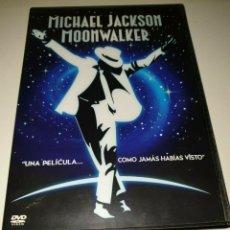 Vídeos y DVD Musicales: MICHAEL JACKSON- MOONWALKER DVD LA PELICULA. Lote 233971440