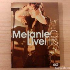 "Vídeos e DVD Musicais: MELANIE C ""LIVE HITS"" RED GIRL RECORDS 2006. Lote 234896345"
