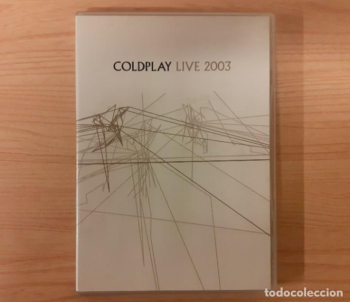 "COLDPLAY ""LIVE 2003"" 2 DISCOS (DVD/CD) EMI RECORDS LTD. 2003 (Música - Videos y DVD Musicales)"