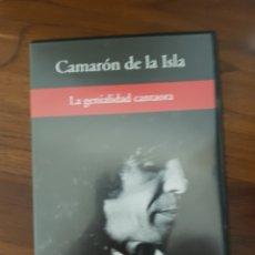 Vídeos y DVD Musicales: DVD DE CAMARÓN DE LA ISLA LA GENIALIDAD CANTAORA Y QUEEN ROCK MONTREAL. Lote 234914550