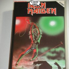 Vídeos y DVD Musicales: IRON MAIDEN, LIVE AT THE RAINBOW 1980, VHS, HEAVY METAL, ROCK DURO, HARD, SPEED, ROLL, MUY DIFICIL. Lote 235111840