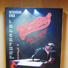 Vídeos e DVD Musicais: BURNING - VIVO Y SALVAJE. CUATRO DÉCADAS DE ROCK (2 CD + 1 DVD) DVD. Lote 235202300