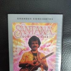 Vídeos y DVD Musicales: SANTANA DOWN UNDER - DVD - 1979 EN DIRECTO HORDERN PAVILION DE SYNDEY - GRANDES CONCIERTOS. Lote 235714870