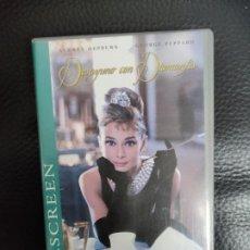 Vídeos y DVD Musicales: WIDESCREEN VHS DESAYUNO CON DIAMANTES - AUDREY HEPBURN, GEORGE PEPPARD, PARAMOUNT 76505. Lote 235715515