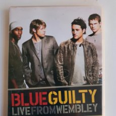 Vídeos y DVD Musicales: DVD BLUE GUILTY - LIVE FROM WEMBLEY. Lote 235729145