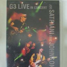 Vídeos y DVD Musicales: VHS G3 LIVE IN CONCERT - JOE SATRIANI-ERIC JOHNSON-STEVE VAI. Lote 235826960