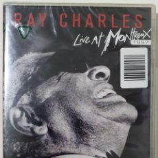 Vídeos y DVD Musicales: DVD RAY CHARLES- LIVR AT MONTREUX. Lote 235828440