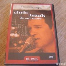 Vidéos y DVD Musicaux: CHRIS ISAAK. RAUL MALO. EL PAIS. EN DIRECTO. Lote 235960240