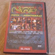 Vidéos y DVD Musicaux: MUSIC FOR MONTSERRAT. EL PAIS. EN DIRECTO. Lote 235989305