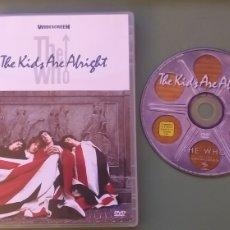 Vídeos y DVD Musicales: THE WHODVDTHE KIDS ARE ALRIGHT COMO NUEVO+ 5€ ENVIO CN. Lote 236167245