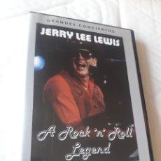 Vídeos y DVD Musicales: JERRY LEE LEWIS A ROCK N ROLL LEGEND DVD. Lote 236738125