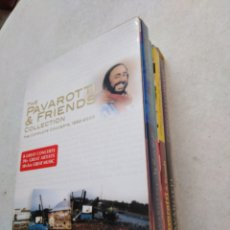 Vídeos y DVD Musicales: THE PAVAROTTI & FRIENDS COLLECTION ( THE COMPLETE CONCERTS 1992-2000 ) 4 DVD. Lote 236836675